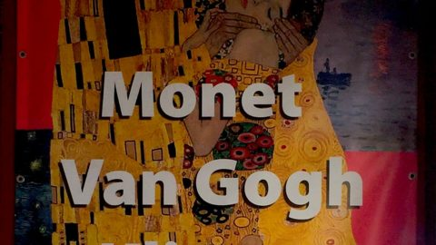 Monet2Klimt -multimedianäyttely