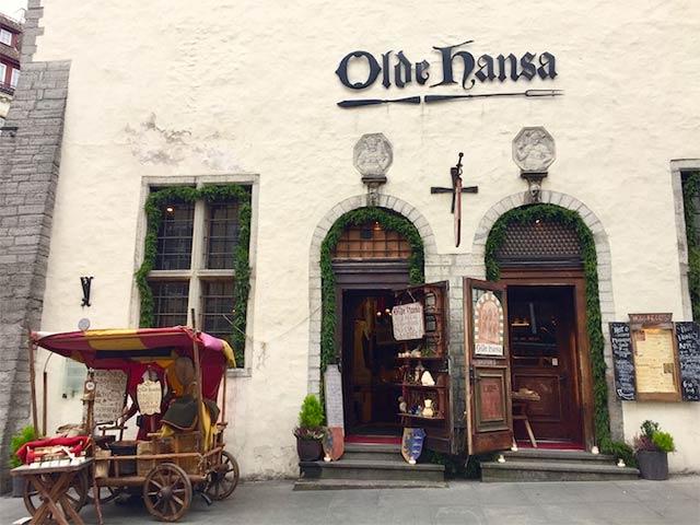 Ravintola Olde Hansa Tallinna