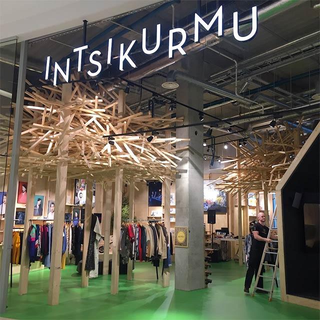 Intsikurmu Kets -myymälä T1 Mall of Tallinnassa.