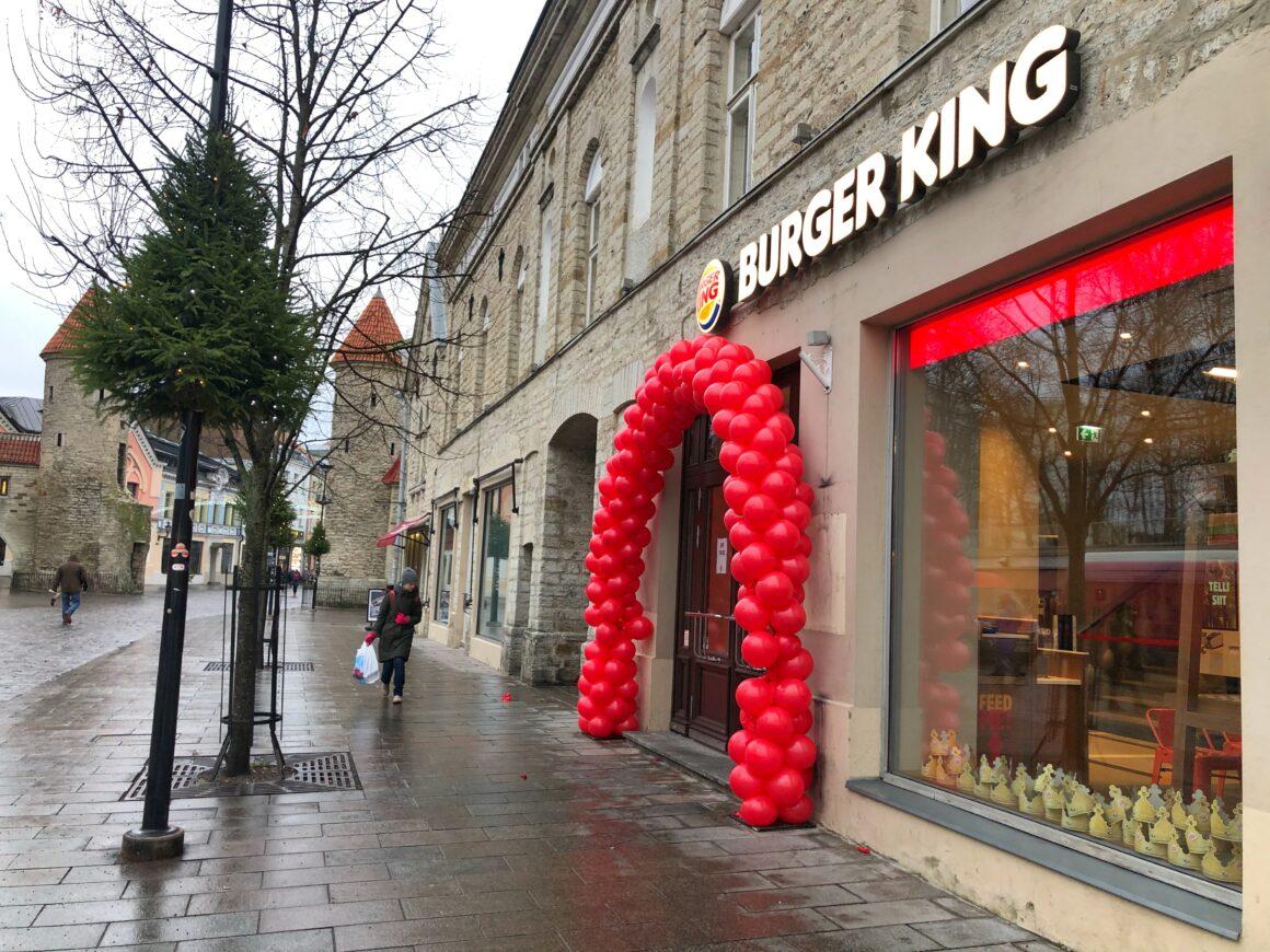 Burger King Viru-kadulla