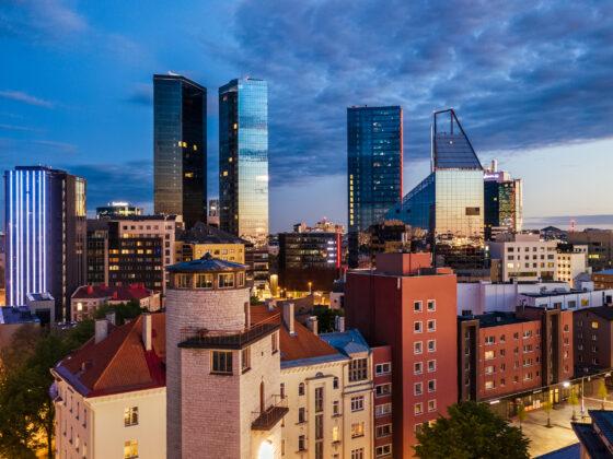 Tallinnan siluetti