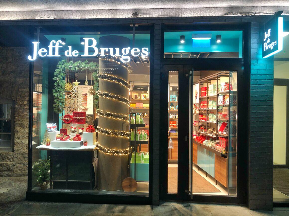 Jeff de Bruges -myymälä Rotermannissa