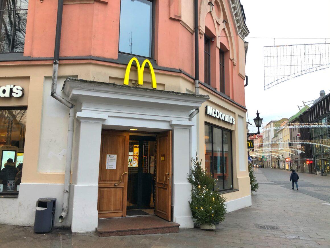 McDonald's Viru-kadulla