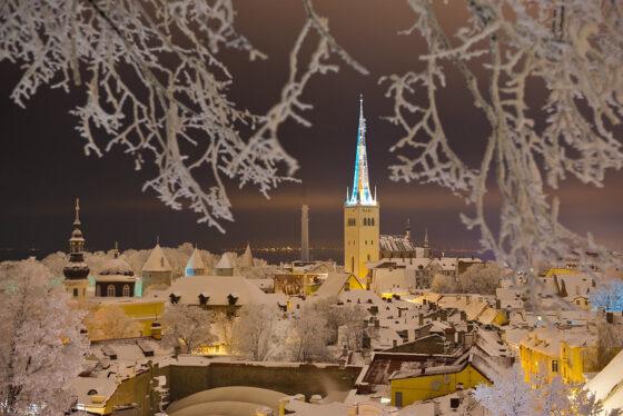 Tallinna talvella