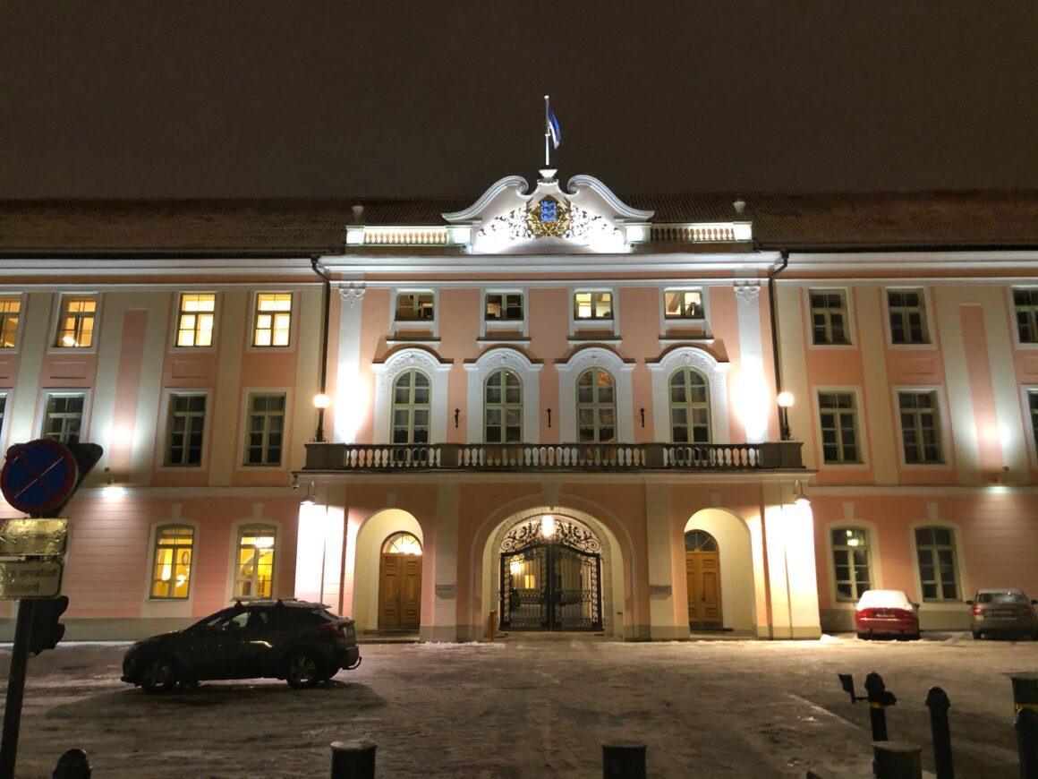Toompean linna Tallinnassa