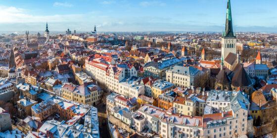 Ilmakuva Tallinnasta