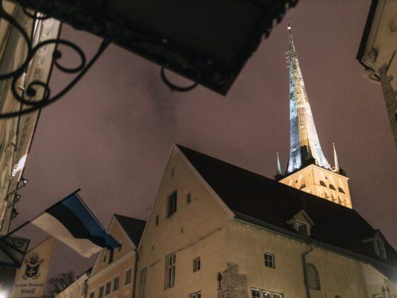 Olevisten kirkon torni