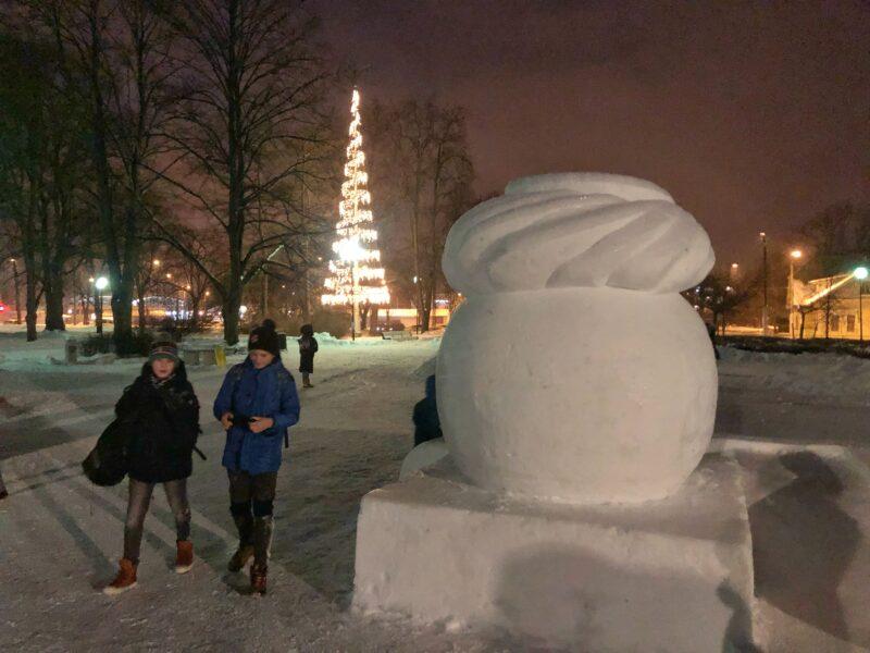 Luminen laskiaispulla