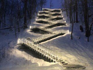 Põhjakonnan portaat pimeällä