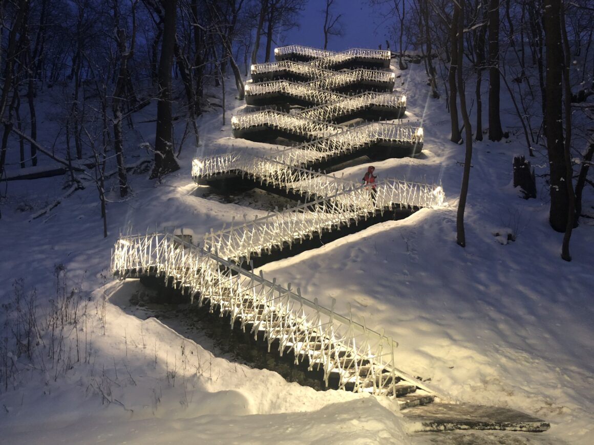 Põhjakonnan portaat pimeässä